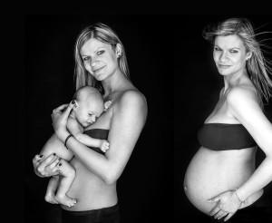 foto prima e dopo il parto003